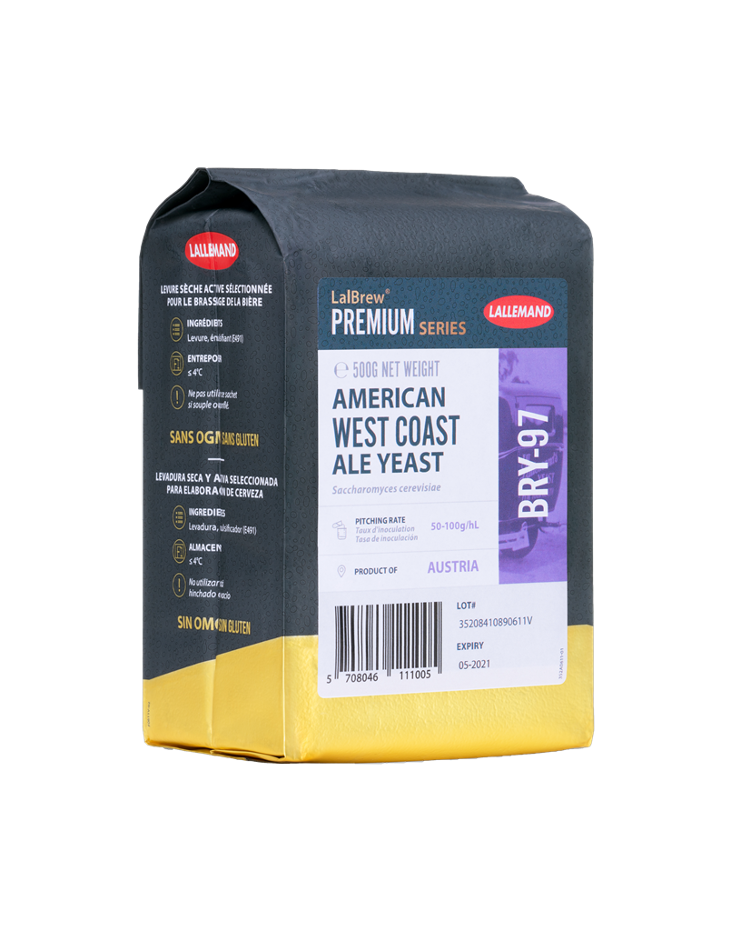 LalBrew BRY-97 American West Coast Ale Yeast (500g)