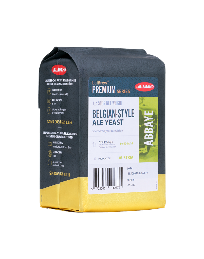 LalBrew Abbaye Belgian Style Ale Yeast (500g)